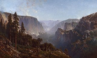 Yosemite Valley (From Below Sentinel Dome, as Seen from Artist's Point)