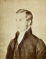 Thomas Hodgkin, as a young man. Photograph by E. Edwards, 18 Wellcome V0028439.jpg