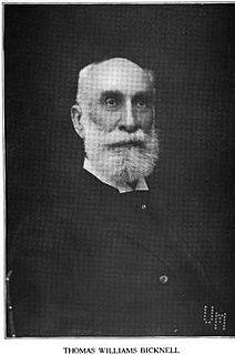 Thomas W. Bicknell American historian