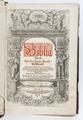 Titelsida till Gustav II Adolfs bibel på svenska från 1618 - Skoklosters slott - 93185.tif