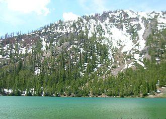 Smoky Mountains (Idaho) - Image: Titus Lake Sawtooth NRA