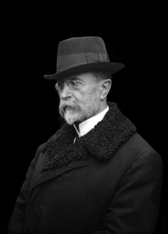 History of Czechoslovakia - Tomáš Garrigue Masaryk, the first president of Czechoslovakia.