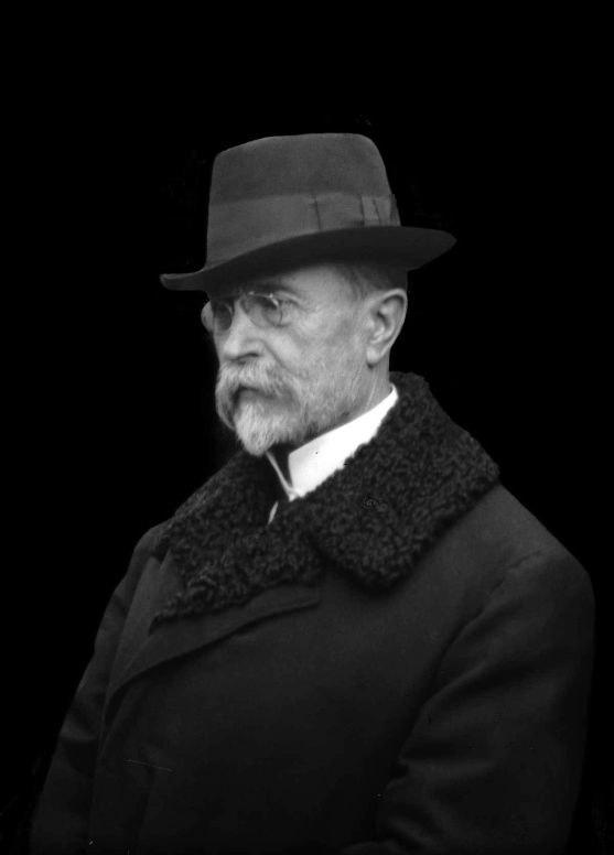 Tomáš G Masaryk1918