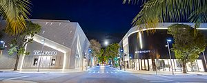 Miami Design District - NE 39th Street in the heart of Miami Design District