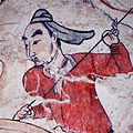 Tomb of Northern Qi Dynasty in Jiuyuangang, Xinzhou, Mural 34.jpg