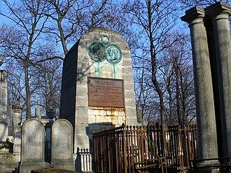 Jacques-Antoine Manuel - Tomb of Jacques-Antoine Manuel, buried with his friend Pierre-Jean de Béranger in Paris.