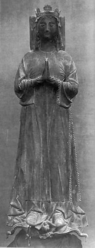 Catherine I, Latin Empress - Image: Tombeau Catherine de Courtenay