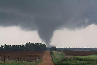 Tornadoes of 2010 - An EF2 tornado in Kansas