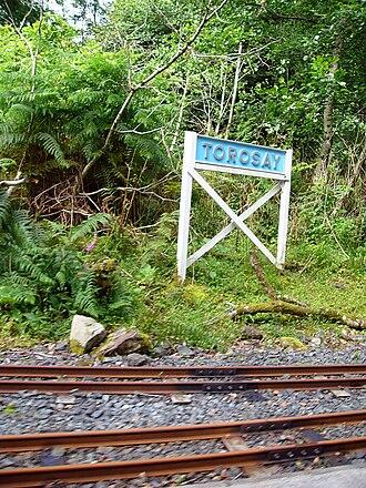 Isle of Mull Railway - Torosay in 2010