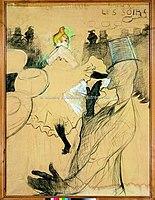 Toulouse-Lautrec - MOULIN-ROUGE. LA GOULUE ET VALENTIN LE DESOSSE, 1891, MTL.138.jpg