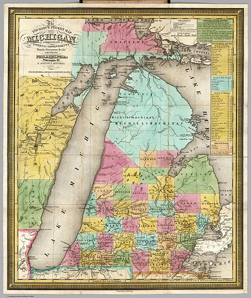 Northern Michigan Wikipedia – Michigan Tourist Attractions Map