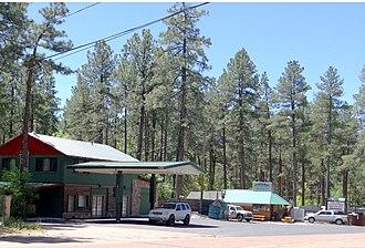 Christopher Creek, Arizona - Image: Town Christopher Creek