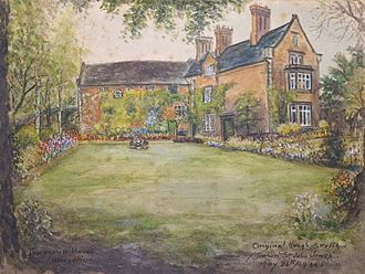 Roger Wilbraham - Townsend House (by Herbert St. John Jones in 1934)