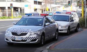 Tasmania Police - Tasmania Police vehicles