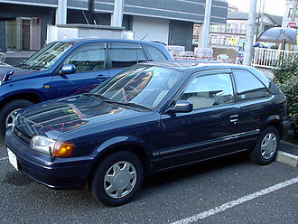 Toyota Tercel - 1995–1997 Corsa 3-door hatchback (Japan)