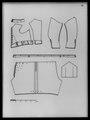 Tröja av guldbrokad med svart sammets botten - Livrustkammaren - 43040.tif