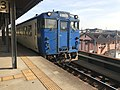Train of Kashii Line at Chojabaru Station.jpg