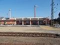 Train station (Sándor Murányi, 1950), 2019 Aszód.jpg