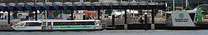 Elizabeth Quay Jetty - Transperth ferry Phillip Pendal at Elizabeth Quay Jetty