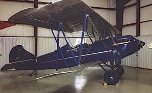 Historic Aircraft Restoration Museum - Image: Travelair 2000.HARM