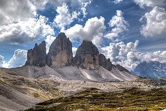 Dolomites - The Three Peaks of Lavaredo