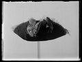 Trekantig hatt till kostymbalsdräkt-maskeraddräkt - Livrustkammaren - 19280.tif