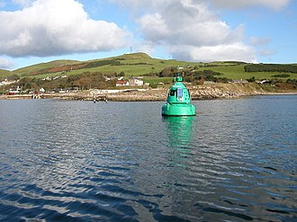 Campbeltown Loch - Trench Point, Campbeltown Loch, Kintyre. - geograph.org.uk - 61193