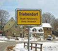 Triebendorf (Heilsbronn), Ortsschild 2909.jpg
