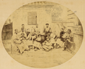 Troupe of Musicians Playing Traditional Chinese Instruments. Shanghai, China, 1874 WDL1919.png