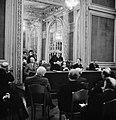 Tsjecho-Slowaaks ambassadeur Štefan Osuský (staand) voert het woord rechts van , Bestanddeelnr 255-8796.jpg