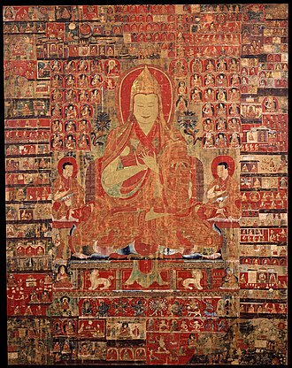 Je Tsongkhapa - Tsongkapa, 15th-century painting, Rubin Museum of Art