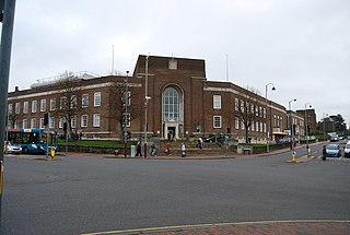 Tunbridge Wells Town Hall Town hall of Tunbridge Wells, England