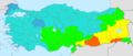 Turkey total fertility rate by province 2013.png