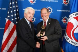 "Bob Turner (American politician) - Congressman Turner was awarded the United States Chamber of Commerce ""Spirit of Enterprise Award"" by U.S. Chamber of Commerce President and CEO Tom J. Donohue for his support of pro-business issues."
