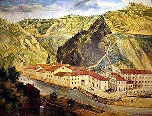 Corpus separatum (Fiume) - Image: Tvornica papira Rijeka 1880