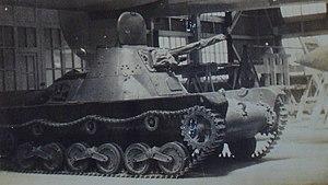 Type 98 Ke-Ni - Type 98A Ke-Ni light tank