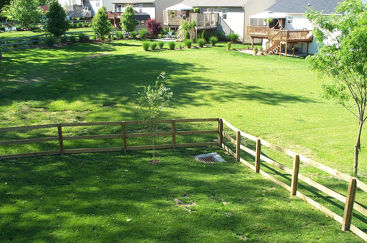 Yard land wikipedia for Outdoor garden