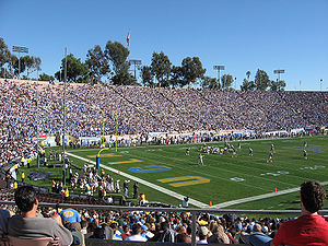 UCLA Bruins - UCLA vs Oregon, at the Rose Bowl, Pasadena, 2007