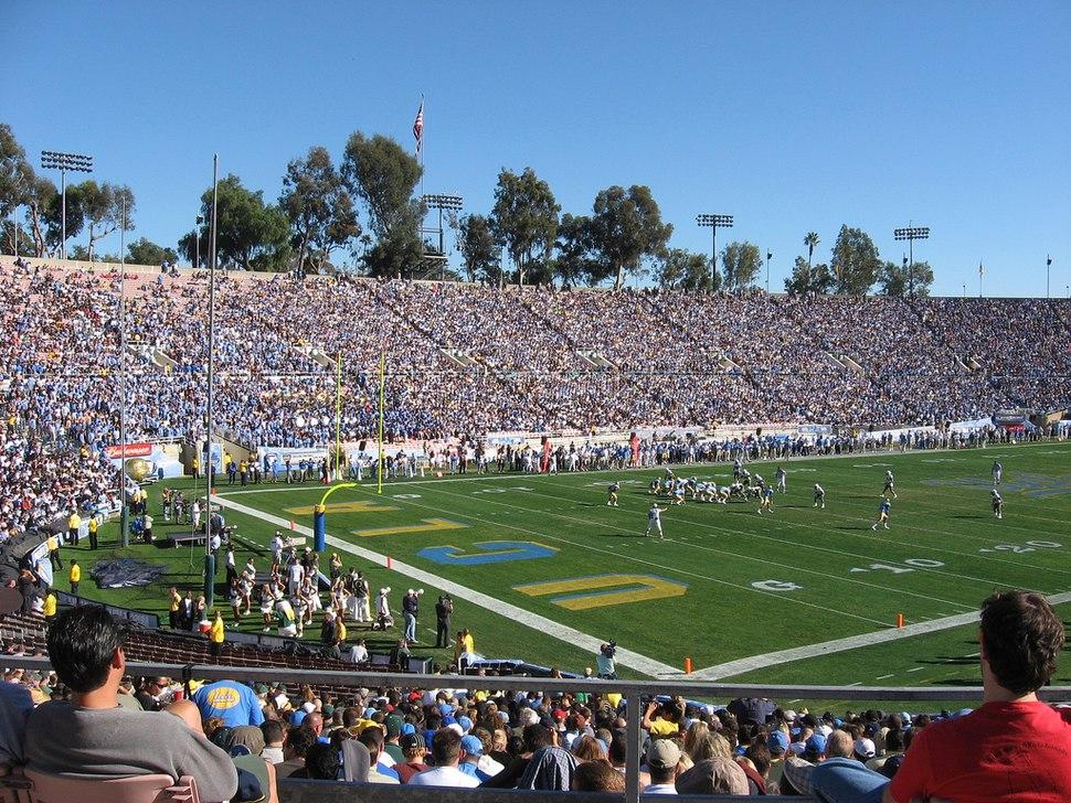 UCLA vs Oregon, Pasadena, 2007