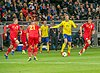 UEFA EURO qualifiers Sweden vs Romaina 20190323 Viktor Claesson.jpg