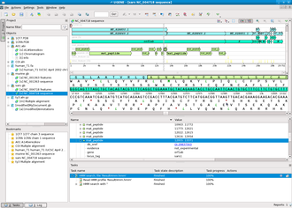 UGENE - Image: UGENE 1 4 1 screenshot