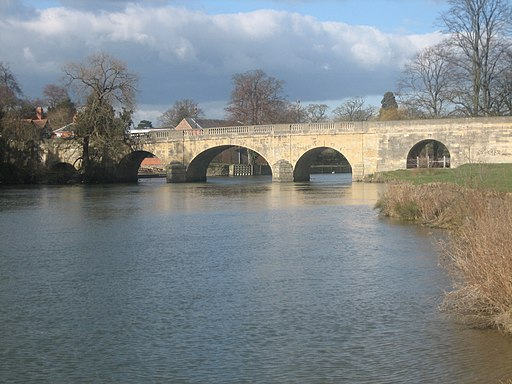 UK-Wallingford Bridge