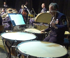 USAFE Band timpanist