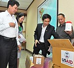 USAID Supplies personal protective equipment and disinfectant to help control infection in Vietnam. (5058779631).jpg