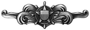 Surface warfare insignia - Cutterman insignia – enlisted