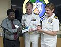 USNS Mercy holds an opening ceremony in Rabaul, Papua New Guinea During Pacific Partnership 150706-N-UQ938-080.jpg