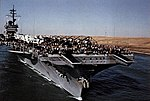 USS America (CV-66) in the Suez Canal 31 January 1983.jpg