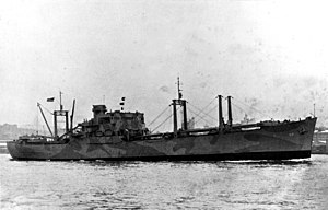 Arcturus-class attack cargo ship - Image: USS Arcturus (AK 18) underway in 1942