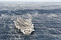 USS George H.W. Bush (CVN-77) in the Atlantic Ocean 2013 (aft view).JPG