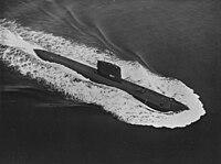 USS Nautilus (SSN-571) underway at sea in June 1965.jpg